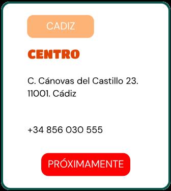 PEDIR EN TUK TUK NOODLES CADIZ ÁDIZ CENTRO C. Cánovas del Castillo 23. 11001. Cádiz Lunes - Jueves 13:00 - 16:00 / 20:00 - 00:00 Viernes - Domingo 13:00 - 00:00 +34 856 030 555